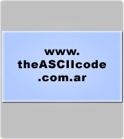 The complete table of ASCII characters, codes, symbols and